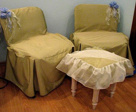 Чехлы на стулья, держалки, чехол на колонны